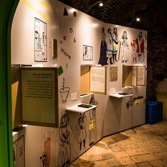 Ausstellungsdesign Reformation Szenographie Mia Bodenstein