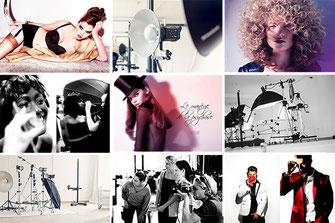 Fotoworkshop und Einzel-Coaching mit Models im Fotostudio zum Thema Fashionfotografie im Mietstudio Osnabrück