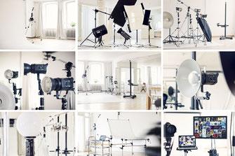 Fotoworkshop im Fotostudio zum Thema Einführung in die Studiofotografie im Mietstudio Osnabrück