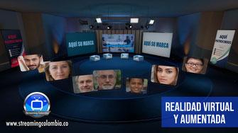 Streaming Colombia - Realidad Virtual y Aumentada con la tecnología EDISON PRO de Brainstorm 3D