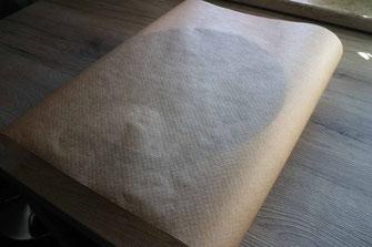 Tortenring mit Backpapier