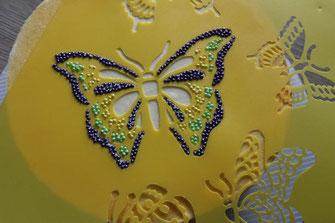 butterfly stencil