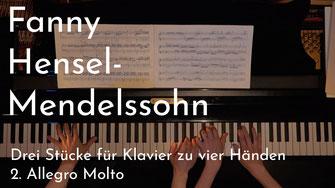 Fanny Hensel-Mendelssohn – Allegro Molto