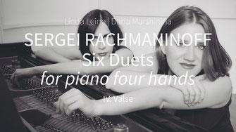 Sergei Rachmaninov. Six Duets – Valse, Gloria/Slava