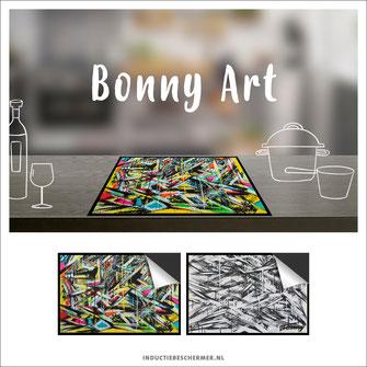 Inductie kookplaat beschermer kunst Bonny Art