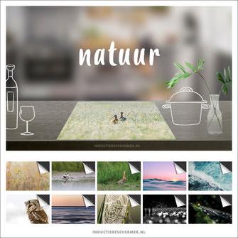 Inductie kookplaat beschermer natuur