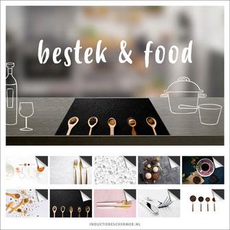 Inductie kookplaat beschermer keuken food