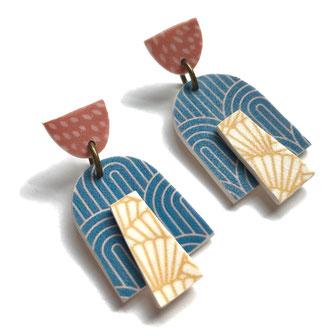 Arch Stud Earrings
