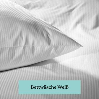 weiße Bettwäsche für Krankenhaus und Pflegeheim kaufen