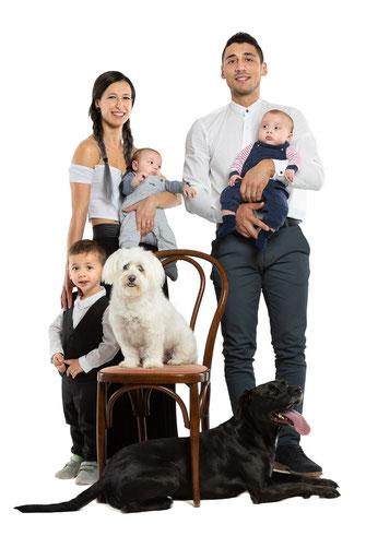 Fotografie di famiglia in esterni - Udine