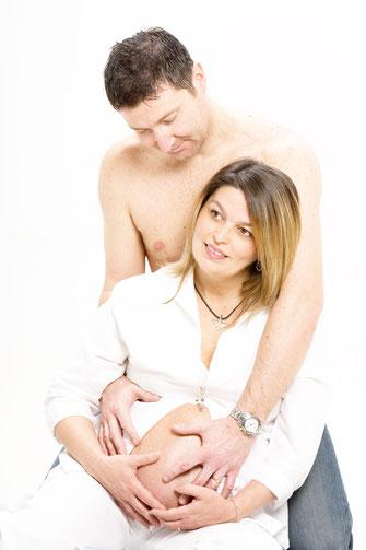 Fotografie di gravidanza in coppia - Udine