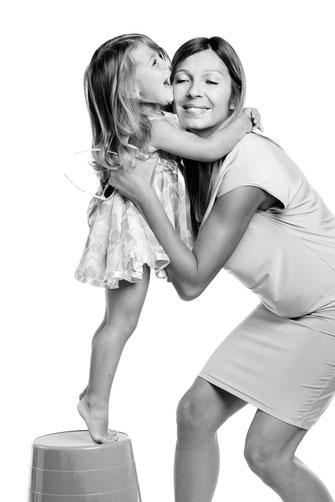Ritratti fotografici mamma e figlia - Udine - San Giorgio di Nogaro  Via Emilia, 82