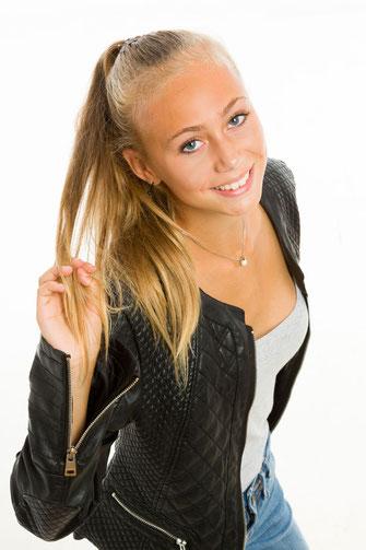 Ritratto fotografico di adolescente - Fotografo San Giorgio di Nogaro Udine