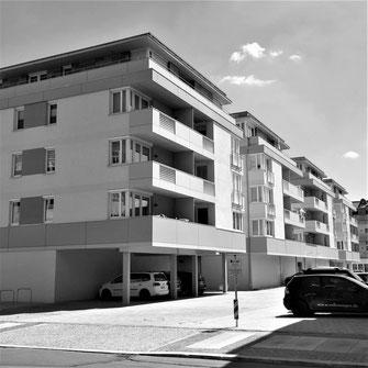 Platzrandbebauung | Zwickau  (im Büro aT2)