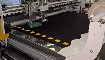OROX Italy | RIVER continuous cut system for Flexo Falcon cutting machine