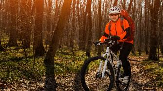 Biker Wald Eptinger