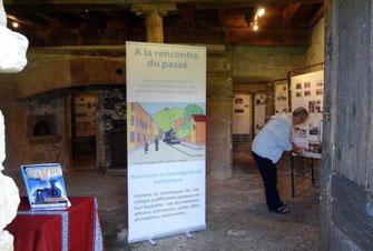 L'exposition à Charrière...