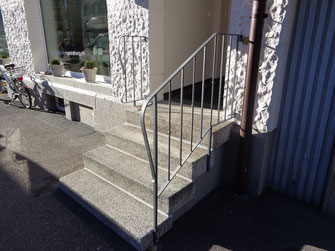 Geländer aus Eisen