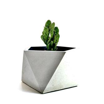 Klare Kante Design Beton Kunst Planter Vase Blumenvase Interieur DIY Hamburg