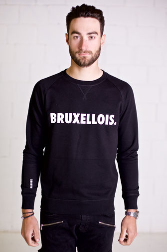 """BRUXELLOIS NEW CITY"" SWEATER 10€"