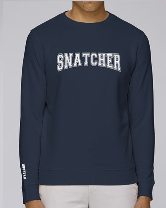 """SNATCHER"" SWEATER 75€ (2 kleuren)"