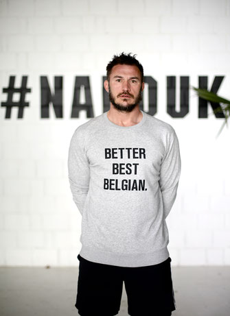 """BETTER BEST BELGIAN"" SWEATER 59€"