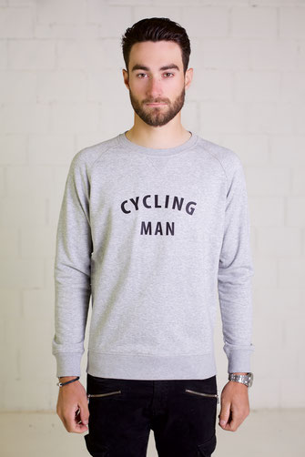 """CYCLING MAN"" SWEATER 75€ (2 kleuren)"