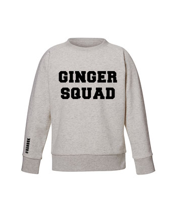 """GINGER SQUAD"" KIDS SWEATER 15€"