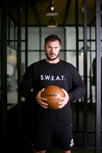 """SWEAT"" UNISEX SWEATER 75€"