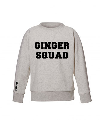 """GINGER SQUAD"" SWEATER 49€"