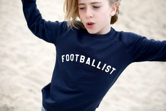 """FOOTBALIST"" SWEATER 49€"