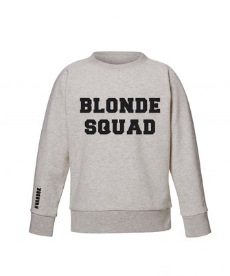"""BLONDE SQUAD"" SWEATER 49€"