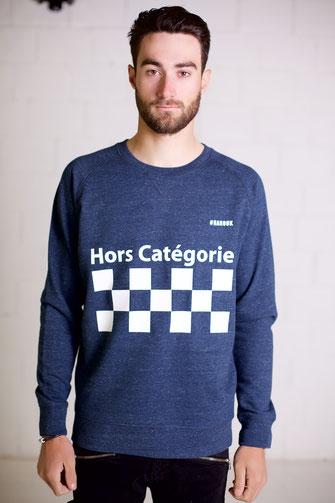 """""""HORS CATEGORIE"""" SWEATER 75€ (2 kleuren)"""