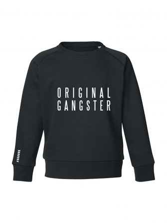 """ORIGINAL GANGSTER"" SWEATER 49€"
