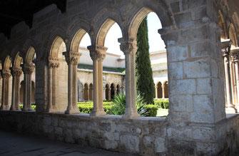 Iglesia y claustro de Santa María la Real de Nieva