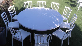 location chaises et tables pour loto et tombolas
