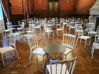Location Chaises Et Tables CCI Marseille
