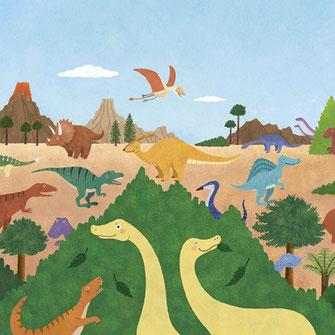 恐竜 こども 知育