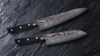 哲弘の包丁ダマスカス鋼の写真