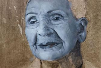 Porträtmalerei Maltechnik Grisaille