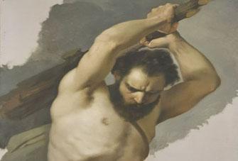 À-la-Prima Maltechnik historisches Bild aus dem Palazzo Pitti