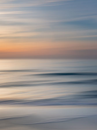 Ostsee, Baltic Sea, Fotokunst, abstract, seascape, abstrakt, Meer, sunset, Sonnenuntergang, Kunst, Strand, beach, Art, Fotografie, photography, wall art, Holger Nimtz, impressionistisch, Impressionismus, Wandbild, malerisch, verwischt,