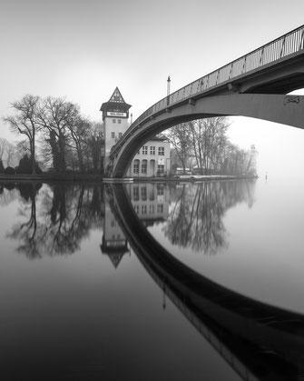 Abteibrücke, Architektur, Berlin, photography, Fotografie, cityscape, architecture, Holger Nimtz, Kunst, fine art, Fotokunst, Langzeitbelichtung, longexposure, schwarz-weiß, monochrome, black and white,