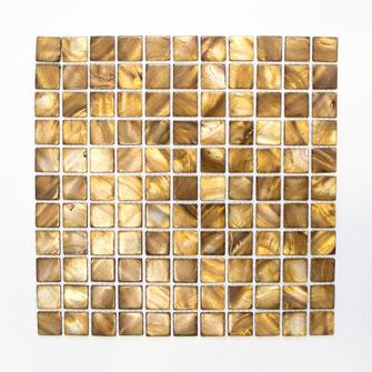Muschelmosaik mix beige braun