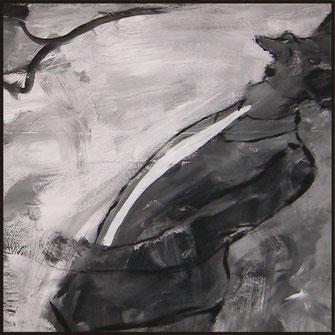 Serie Geschichten, Malerei von Sandra Hosol, Weiden