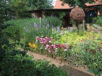 Naturnaher Garten -  nicht nur für die Augen schön - LBV-Bildarchiv Foto: Birgit Helbig