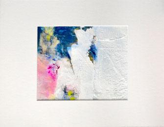"""Dripping Springs"" mit Passepartout 30 x 40 cm"