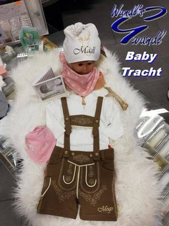 baby-tracht-mädchen-lederhose-kurz-wandls-gwandl