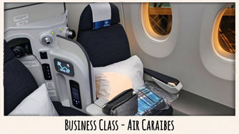 air caraibes a350 business class