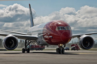 norwegian air boeing 787 dreamliner